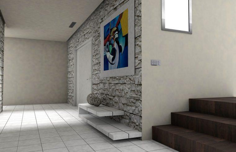 Fototapeta w korytarzu